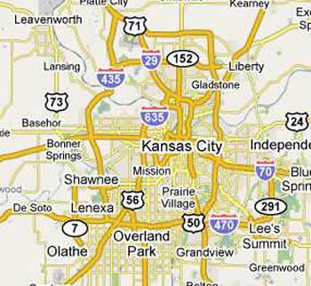 Kansas City Junk Removal Dumpsters Kansas City MO Trash Removal - Kansas cities map